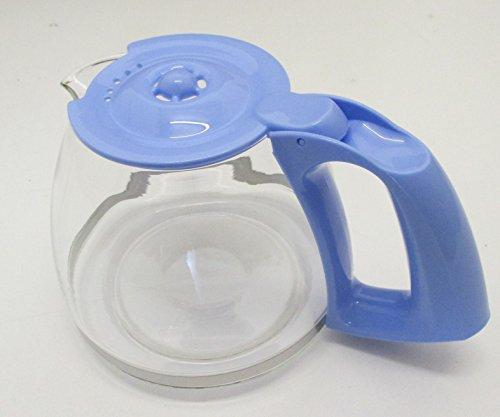 MOULINEX-Jarra con tapa para cafeteras de filtro, color azul/MOULINEX
