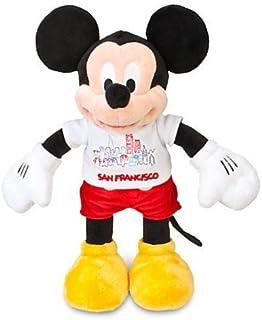 """Disney Mickey Mouse San Francisco Tee Plush - 17"""""""