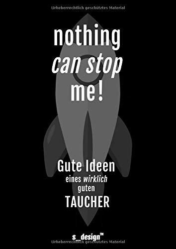 Notizbuch für Taucher / Taucherin: Originelle Geschenk-Idee [120 Seiten liniertes DIN A4 blanko Papier]
