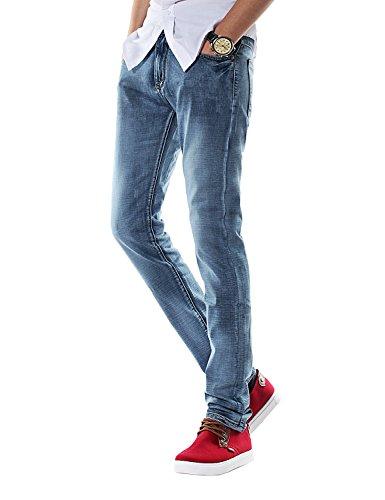 Demon&Hunter Men's Slim Fit Jeans S8315(31) Blue