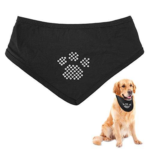 Pet Bib, Trendy Driehoek Sjaal, Kraag Dieren Katoenen Slab, Speekselhanddoek voor Honden, Katten, Puppies (Klauw)