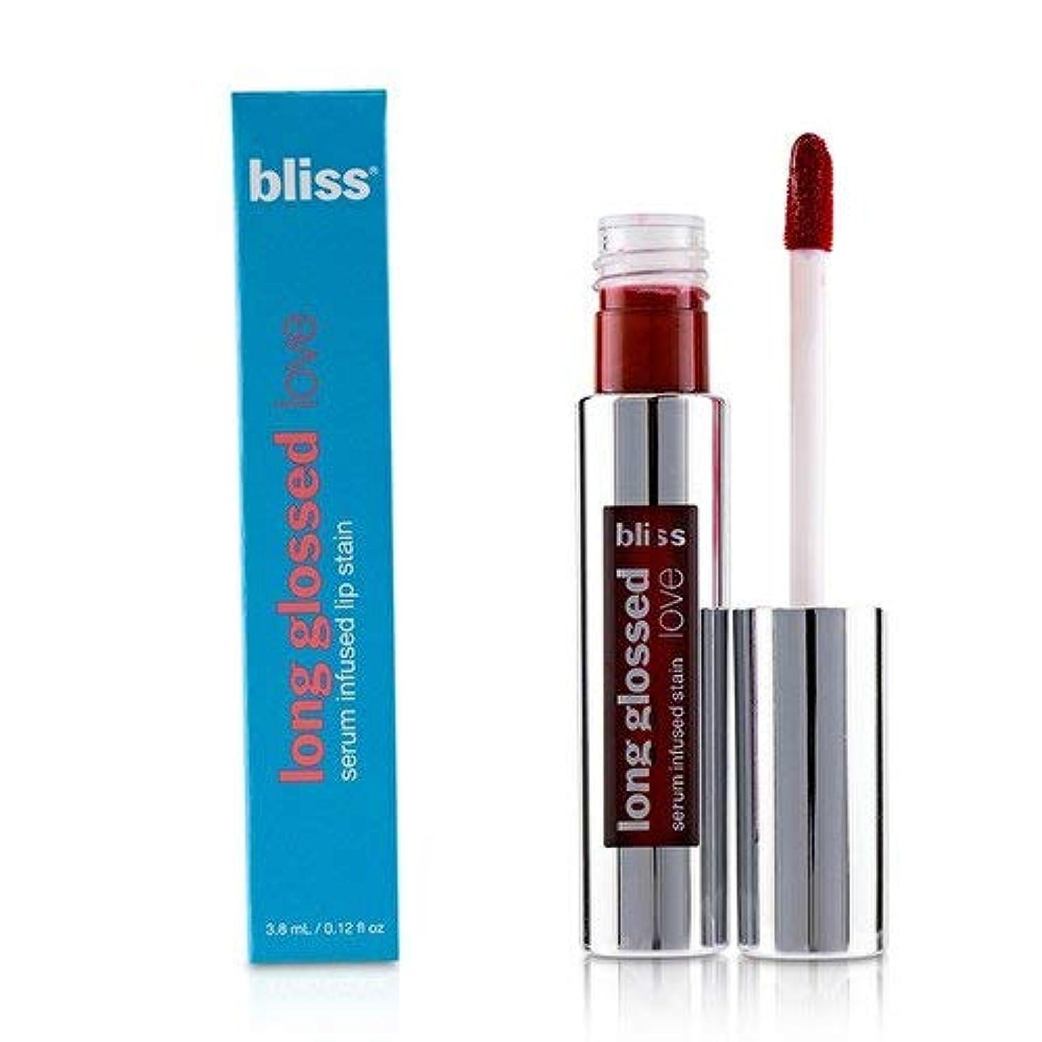 単に所有権発疹ブリス Long Glossed Love Serum Infused Lip Satin - # Red Hot Moma 3.8ml/0.12oz並行輸入品