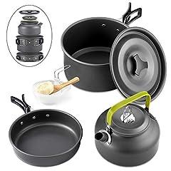 Queta 10-Teilig Cookware Kit Picknick