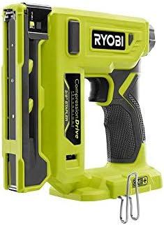 Ryobi 18-Volt ONE+ Cordless Compression Drive 3/8 in. Crown Stapler