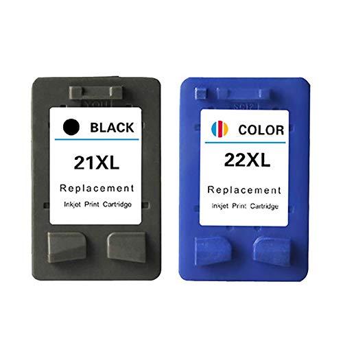 VNZQ 680XL inkttank, Deskjet 1115 Deskjet Ink Advantage 3635 inkttank voor Compatibel met HP printer, size, Pak