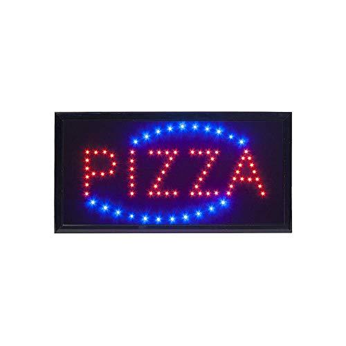 INSEGNA LUMINOSA A LED CON SCRITTA PIZZA (Variante4)