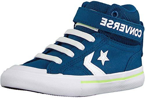 Converse Pro Blaze Strap High Sneaker Kinder blau/weiß, 31.5 EU - 13 UK - 13.5 US