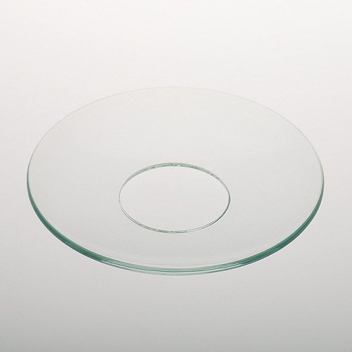 Dekolust Tropfschale Glas 7 cm Tropfschutz für Stabkerzen Tropfenfänger Kerzenmanschette