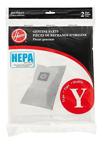 Hoover Type Y HEPA Filter Bag, Set of 4 bags Louisiana