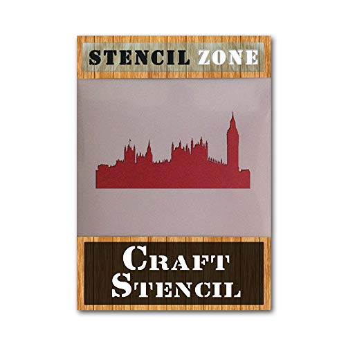 London City Mylar AIRRUSH - Plantilla de pintura para pared A6 Stencil - XXSmall