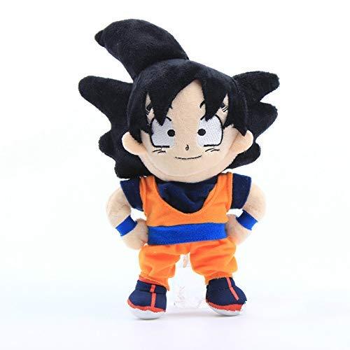 Yppss Dracheplüsch spielt Dragon Ball Z Plüschtier Piccolo Vegeta Majin Buu Son Goten weiche Kuschelpuppen 22cm Geschenk-Partei-Puppen Eternal