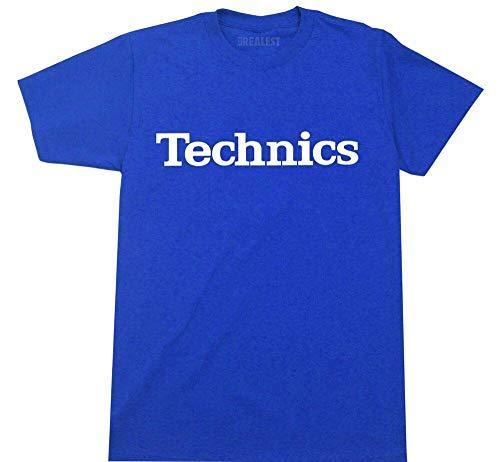 Technics Logo T Shirt DJ 1200 Turntable Music Sizes M-2XL
