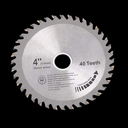 Nuokix Kappsäge 4INCH Super dünner Turbo 1,5 mm Dicke Disc Diamant-Sägeblatt Schneiden for Fliesen Keramik Holz Aluminium Kreissägemaschinen, A Sägeblätter Werkzeuge