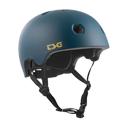 TSG Meta Skate & Bike Helmet in Satin Jungle w/Dial Fit System   for Cycling, BMX, Skateboarding, Rollerblading, Roller Derby, E-Boarding, E-Skating, Longboarding, Vert, Park, Urban