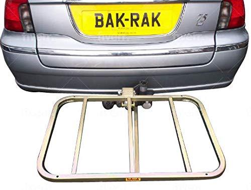 bak-rak Base-rak G3 towball carrier platform in plated Mild steel - UK made