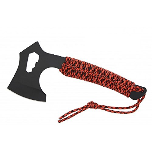 BKL1® Red Paracord Axt Nomad Beil Outdoor EDC Prepper 1018