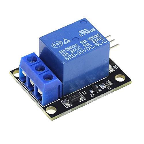 F-Mingnian-TOOL, 1 Stück 5 V 1 2 4 6 8 Kanäle Relaismodul mit Optokoppler Ausgang Relais 1 2 4 6 8 Way Relaismodul für Arduino DIY Kit (Größe: 1 Channel)