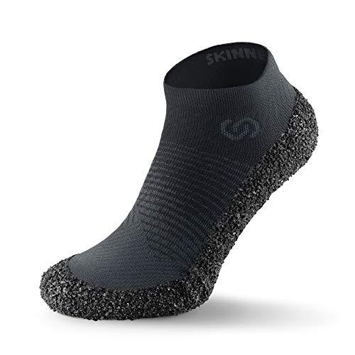 Skinners 2.0 Anthracite | Unisex Minimalistische Barfußschuhe für Damen & Herren | Minimalist Barefoot Socks/Shoes for Men & Women