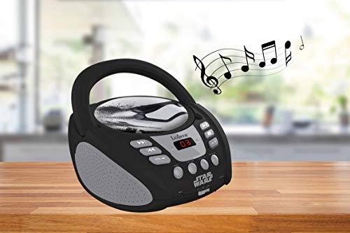 Lexibook RCD108SW Radio CD Player Star Wars Design