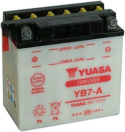 Yuasa YB7-A Yumicron Batería de 12V