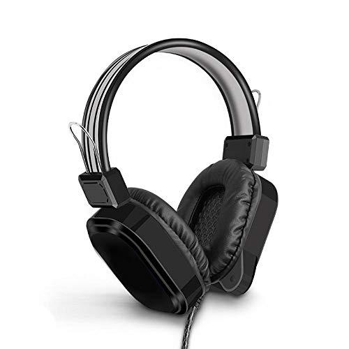 SFBBBO Headset Gaming Kopfhörer Headset Gamer 7.1 Surround Sound Kabel USB Aux HD Mikrofon PC Computer Stereo Sealed Ear Headset Laptop Standard5.1Black