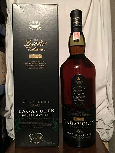 Lagavulin 1984 Double Matured The Distillers Edition Limited Edition mit Fall 1L