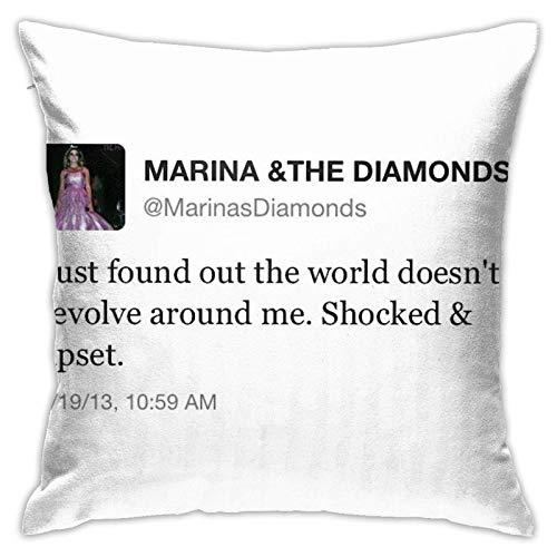 Yanting Maa und die Diamanten Tweet Kissenbezug Boden Kissenbezug Sofa Kissen Kissenbezug Rückenlehne über Kissen Interieur