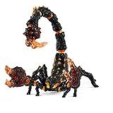Schleich 70142 Eldrador Creatures Spielfigur - Lavaskorpion, Spielzeug ab 7 Jahren