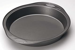 Wilton Excelle Elite Round Cake Pan, Create Delicious Cakes, Mouthwatering Quiches and More in this Even-Heating, Heavy-Duty Non-Stick Cake Pan, Steel, 9-Inch
