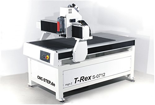 Portale freesmachine T-Rex van staal - 1200x700 mm - CNC-STEP
