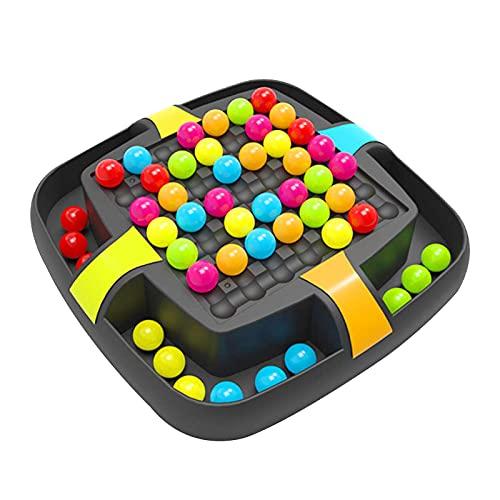 Cowslip Rainbow Ball Matching Toys - Juguete educativo para niños, juego de mesa Montessori para educación temprana, ajedrez para niños y niñas