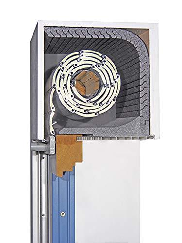 Rollladenkastendämmung DiHa Kombi Flex TF, Rollladenisolierung (Verschlußdeckel 175 x 1000 mm, Dämmmatte 25 mm)