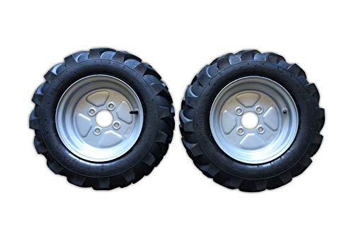 Imbriano Macchine Agricole ruedas de motocultor/motoazada 4.00-10, llantas fijas