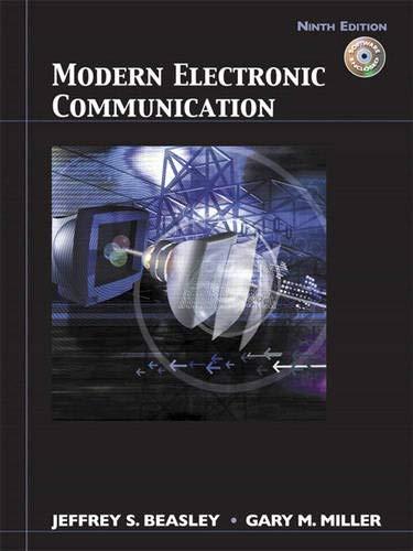 Modern Electronic Communication (9th Edition)