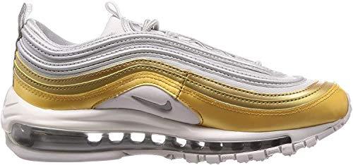 Nike W Air Max 97 Se, Scarpe Running Donna, Multicolore (Vapste Grey/Metallic Silver/Metallic Gold 001), 39 EU