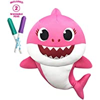 Pinkfong Mommy Shark Doodle & Wash Plush Doll