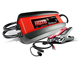 Schumacher Fully Automatic Battery Charger Maintainer and Auto Desulfator - 3 Amp 12V - For Cars Motorcycles Lawn Tractors Power Sports Marine Batteries