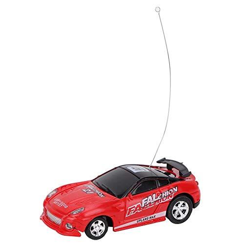 Mini-Fernbedienungsauto, ferngesteuertes Auto für Kinder-Elektrofahrzeuge, drahtloses elektrisches Mini-Rennwagen-Spielzeugmodell für Jungen, Kinder(red)