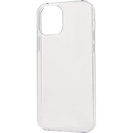 iPhone 12 / iPhone 12 Pro ケース (6.1 インチ) ケース ハード クリアケース 透明 素材 無地 バックカバー ハードケース マイクロドット加工 (商標登録済) 背面 カバー アイフォン 12 / 12 プロ 【 クリア 】