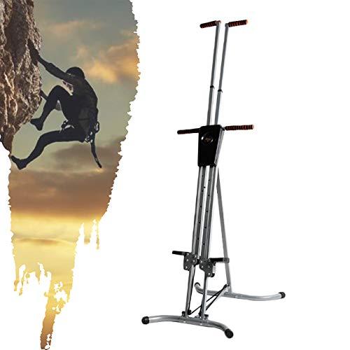 ZhiLianZhao Stepper Vertical Climber, Total fit Climber Fitnessgeräte Simulations Klettermaschine, mit Anti-rutsch Design für Hochintensives Intervalltraining