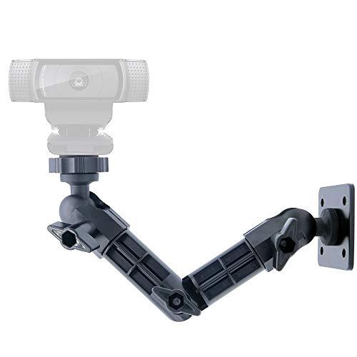Logitech Webcam, support de maintien, support mural webcam pour Logitech C925e C922X C920C930e C922C930C615, Brio 4K