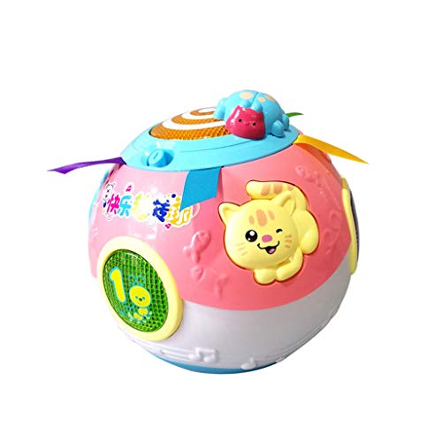 Read About Dayloveme Baby Toddler Learning Crawl Rotating Ball Toy Educational Music Song Animal Gif...
