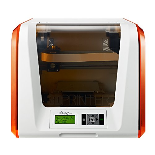 "da Vinci Jr. 1.0 3D Printer ~ 6"" x 6'' x 6'' Built Volume (Includes: $14 300g PLA Filament , $49 3D Design eBook, $10 Maintenance Tools, XYZmaker 3D Design CAD Software) – Fully Enclosed Design for PLA/ Tough PLA/ PETG/ Antibacterial PLA"