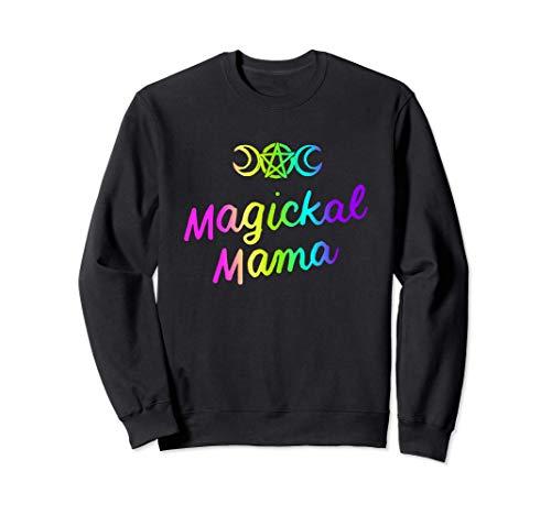 Magickal Mamá Bruja Wiccan Pagan Brujería Witchy Mamá Regalo Sudadera