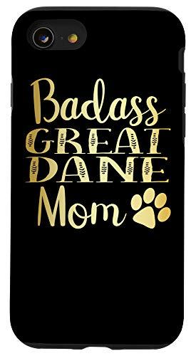 iPhone SE (2020) / 7 / 8 BadAss Great Dane mom Funny Dog womens Cute gift Case