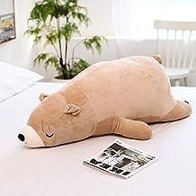 XINHU Pluche Speelgoed For Kinderen Dier Pop Ijsbeer Gevulde Teddybeer Pop Verjaardagscadeau (Color : H)