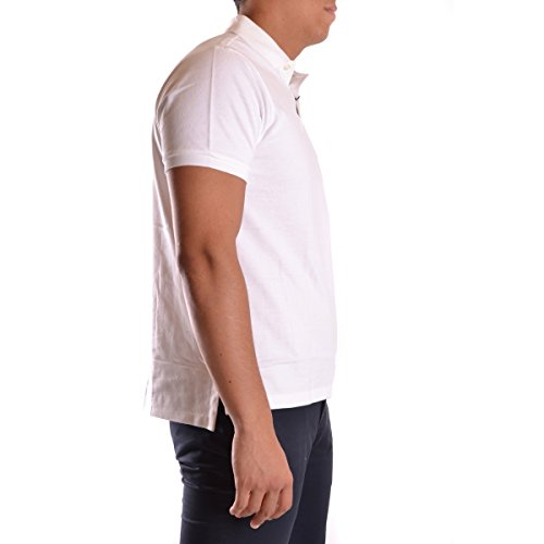 Polo Ralph Lauren Herren SS KC Slim FIT Poloshirt, Weiß (White A1000), Medium