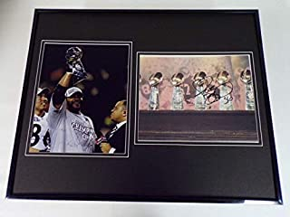 Jerome Bettis Facsimile Signed Framed 16x20 Super Bowl Photo Display