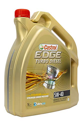 Castrol EDGE TURBO DIESEL 5W-40 Motorenöl 5L