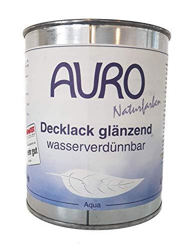 Auro Naturfarben Decklack Nr. 250-65 glänzend Oxid-Grün Innen/Außen 375 ml